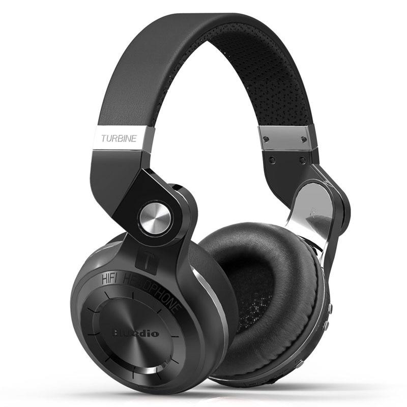 Cadena azul T2S auriculares con cancelación activa de ruido Auriculares inalámbricos con Bluetooth con micrófono para teléfonos móviles y música