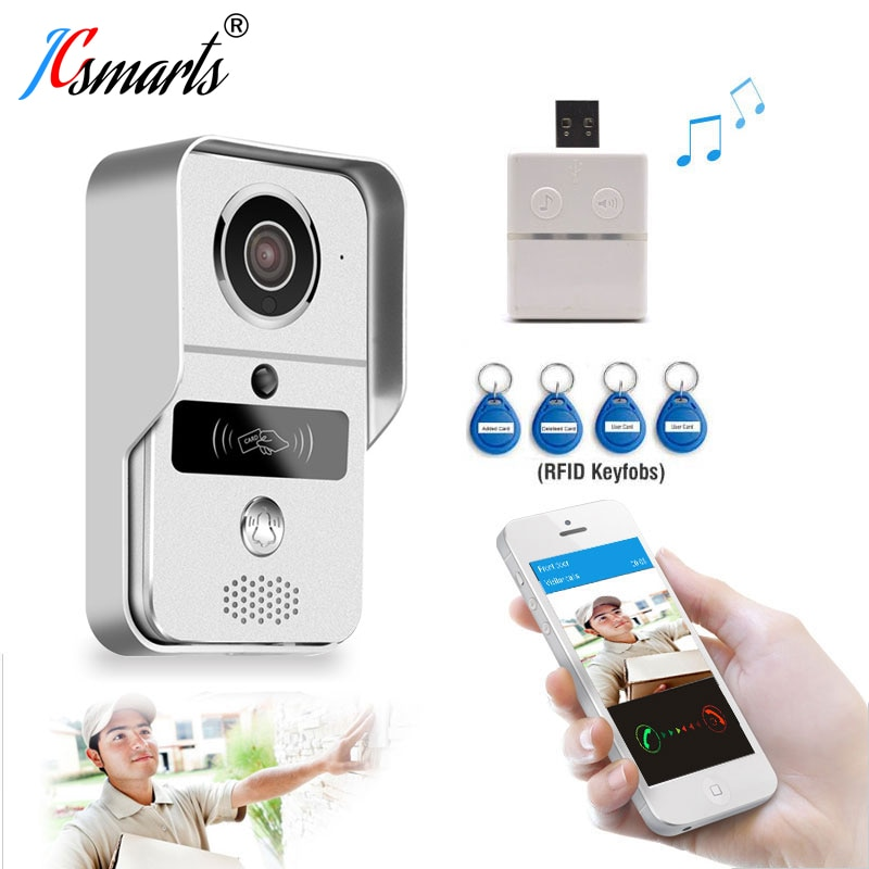 Alta Qualidade RFID Interfone Wi-fi Câmera Interfone Interfone campainha De Vídeo Digital para Casa