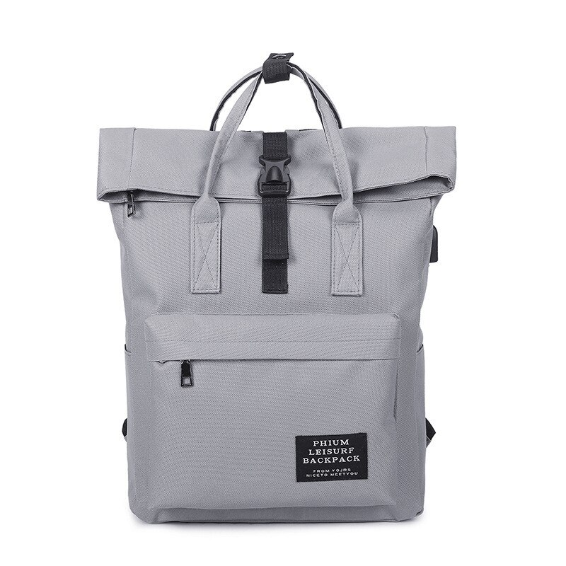 2020 New Women USB Charging Backpack Canvas Bags Female Laptop Backpack School Bags Backpack for teens Girls Mochila Escolar