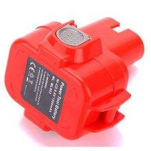 UNS 9,6 V 3000mah Ni-Mh Akku für Makita cordless Elektrische bohrer schraubendreher 6991D 6909D 6992D 6260D 6503D 6990D