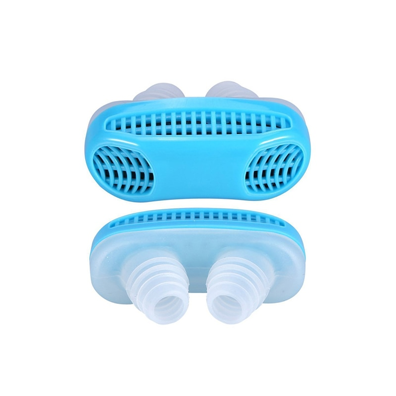 Silicone Anti Snore Device Nasal Dilators Apnea Sleep Aid Stop Snoring Stopper Nose Clip Anti-snore Clean Air Purifier 4colors