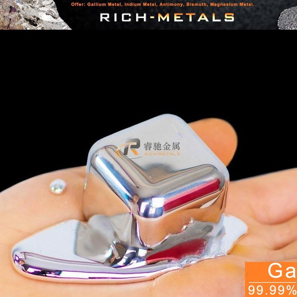 200g gálio metal 99.99% puro