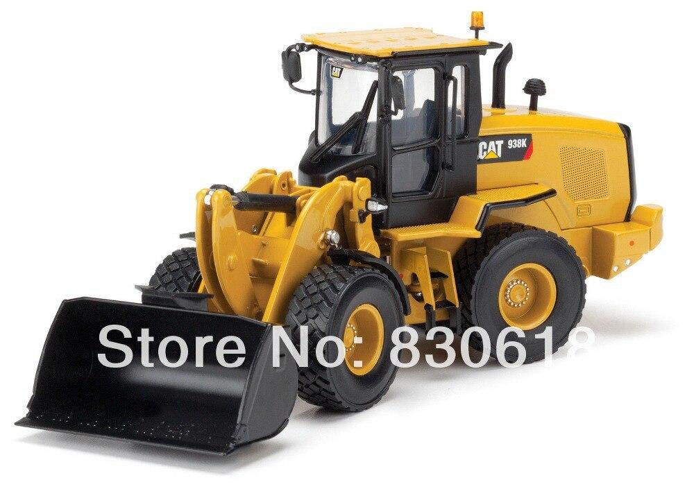 Gato oruga Norscot 55228 150 escala 938 K cargador de ruedas modelo diecast vehículos de construcción de juguete