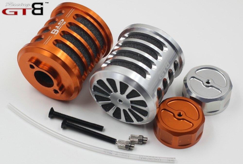 GTBracing RCSQUARE de aire de aleación de kit de filtro con gas cap para HPI KM Roven Baja 5B 5T SS