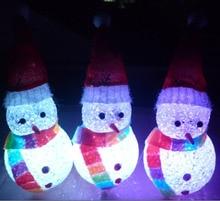 Mini Cartoon Santa Claus/Christmas Tree/Snowman Colorful Light-Up Toys Birthday Gift For Children Friends @Z345 88 FJ88