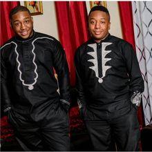 Ph3036 ph3035 Dashiki africain hommes vêtements bazin riche robe africaine pour hommes 2 deux pièces costumes dashiki chemise avec pantalon