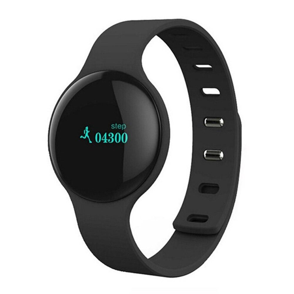 Pulsera inteligente H8 con Bluetooth, pulsera de Fitness, podómetro, pulsera de Cicret, reloj para mujer, pulsera inteligente, rastreador de actividad para teléfonos