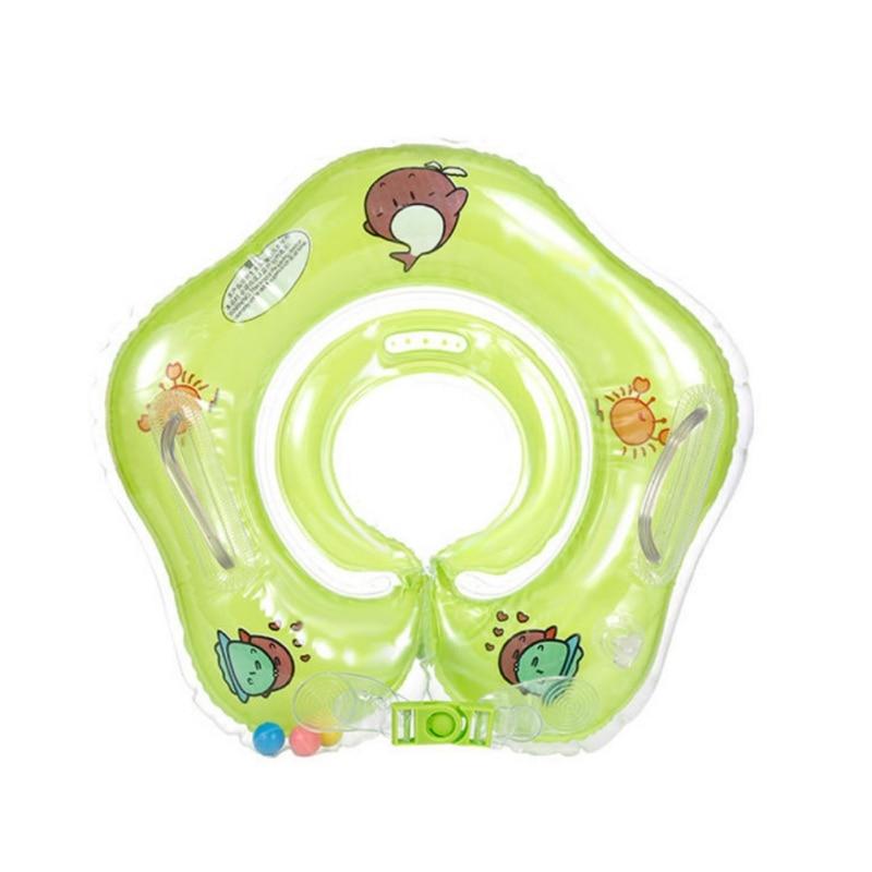 Venda quente Do Bebê Bonito Queda Pescoço Anel Da Nadada Flutuador Grande Golfinho Acessórios Mangueira de Segurança Natação Anel Inflável Banho