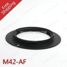 En gros Lentille M42-AF M42 Lentille AF Bague Dadaptation Monture pour a77 a65 a55 a33 a390 a700 a580