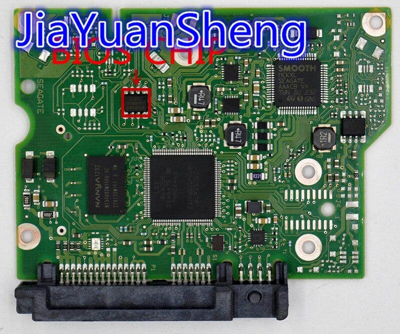 HDD PCB Seagate :100664987 REV B 100664987 REV un 5009 de 5011 ST2000DM001... ST1000DM003... ST500DM002
