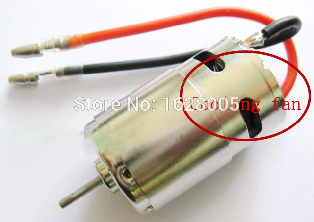 Hot!!!Wltoys A949 A959 A969 A979 1/18 4WD RC Car spare part upgraded version 390 Motor with Cooling