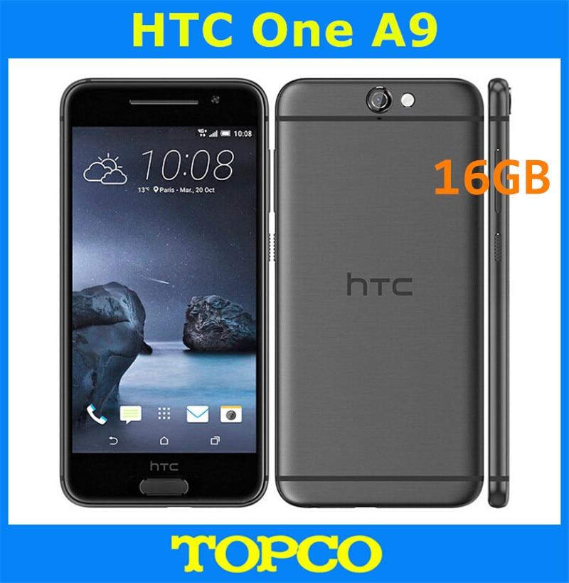 "HTC One A9 16GB desbloqueado Android Teléfono móvil Original Quad-core y Quad-Core 2GB de RAM 3G y 4G GSM 5,0 ""13MP WIFI GPS dropshipping. Exclusivo."