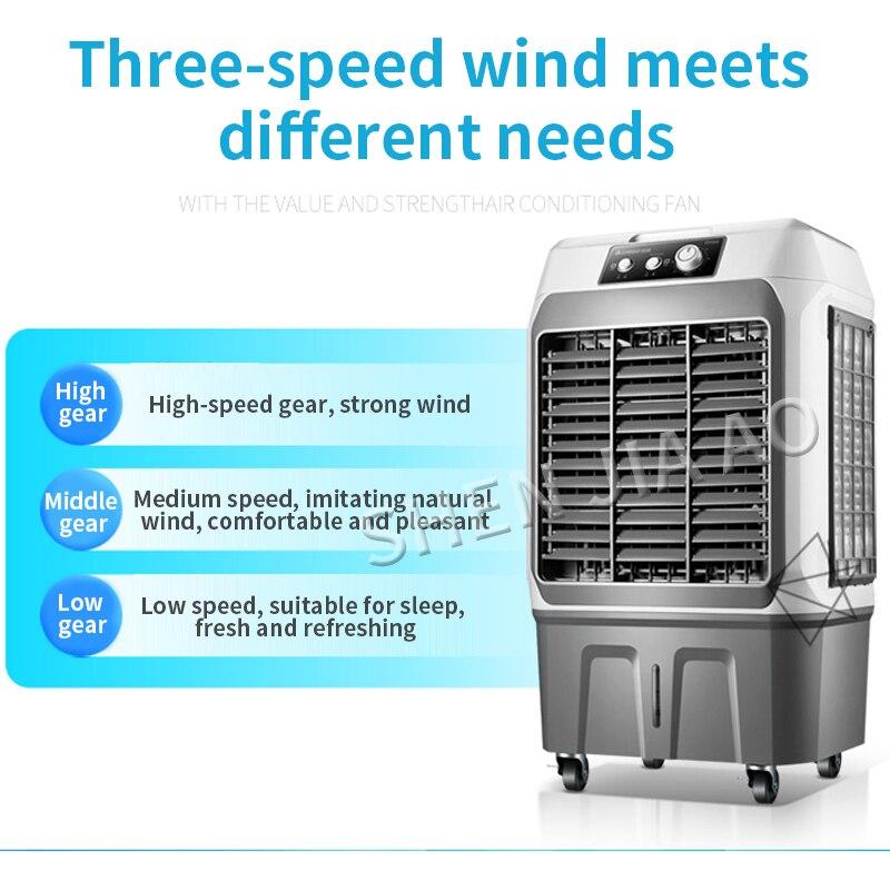 Ventilateur intelligent de refroidissement/refroidissement, ventilateur de climatisation intelligent ventilateur de refroidissement à domicile ventilateur de télécommande eau évaporative