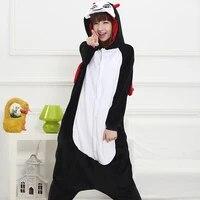 adult anime devil kigurumi onesies cute costume for women men funny warm soft animal demon onepieces sleepwear home cloths girl