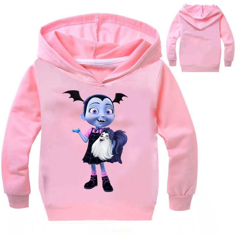 Ropa de bebé niña disfraz de vampiro niños ropa niños sudaderas y sudaderas ropa de niña 2 años ropa