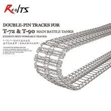 Meng Model SPS-030 1/35 Dubbele pin tracks voor T-72 & T-90 gevechtstank cement-gratis werkbaar tracks