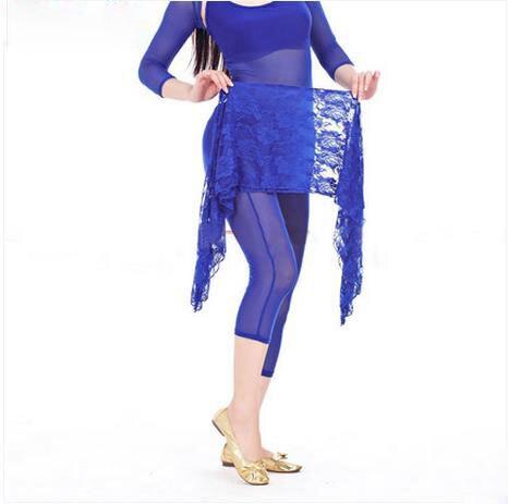 Костюмы для танца живота, кружевная Короткая юбка для танца живота для женщин, хип-шарф для танца живота