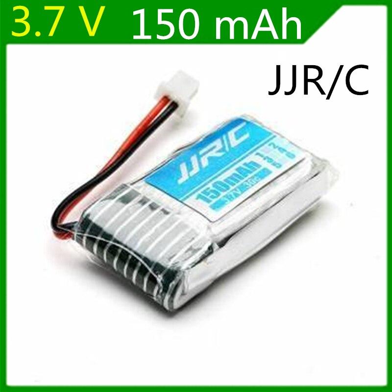 3,7 v 150mah JJRC H20 recambios de cuadrirrotor RC batería LIPO de 150mah Original 1 Uds