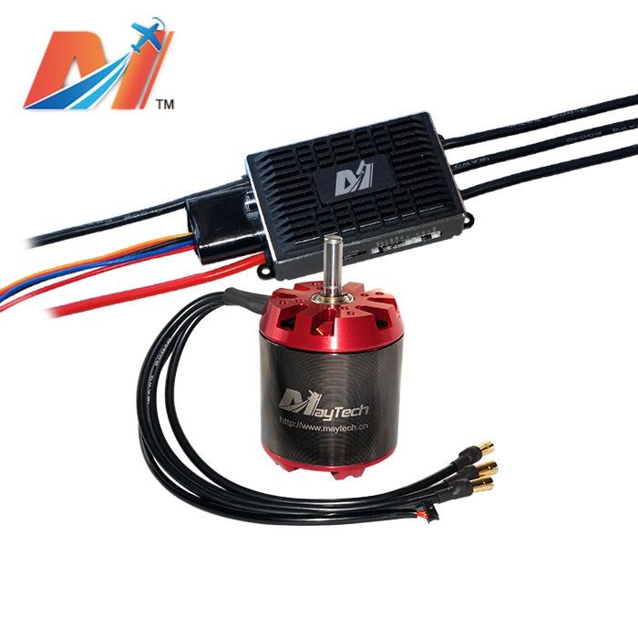 Maytech robótica contra motor 6374 12 s motor dc 170KV robots 100A CES