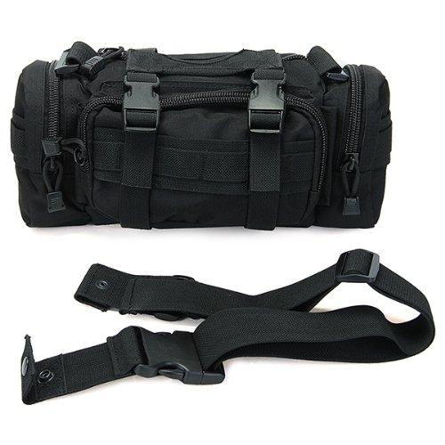 2X Bolso Negro de la línea del servicio del movimiento del bolso de la cintura del viaje