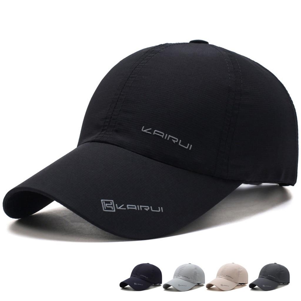 KANCOOLD Casual Men jednolite baseballowe czapki szybkoschnące męskie damskie do koszykówki kapelusz dziewczyna regulowana bejsbolówka czapki kości czapki tirówki