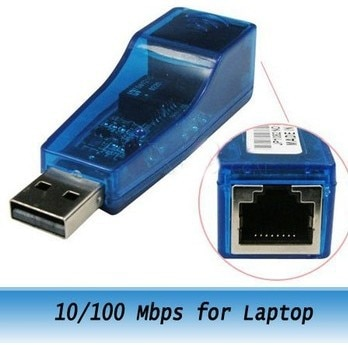 Nuevo adaptador de tarjeta de red Ethernet externo USB a Lan RJ45 de 10/100 Mbps para ordenador portátil de alta calidad de marca minorista