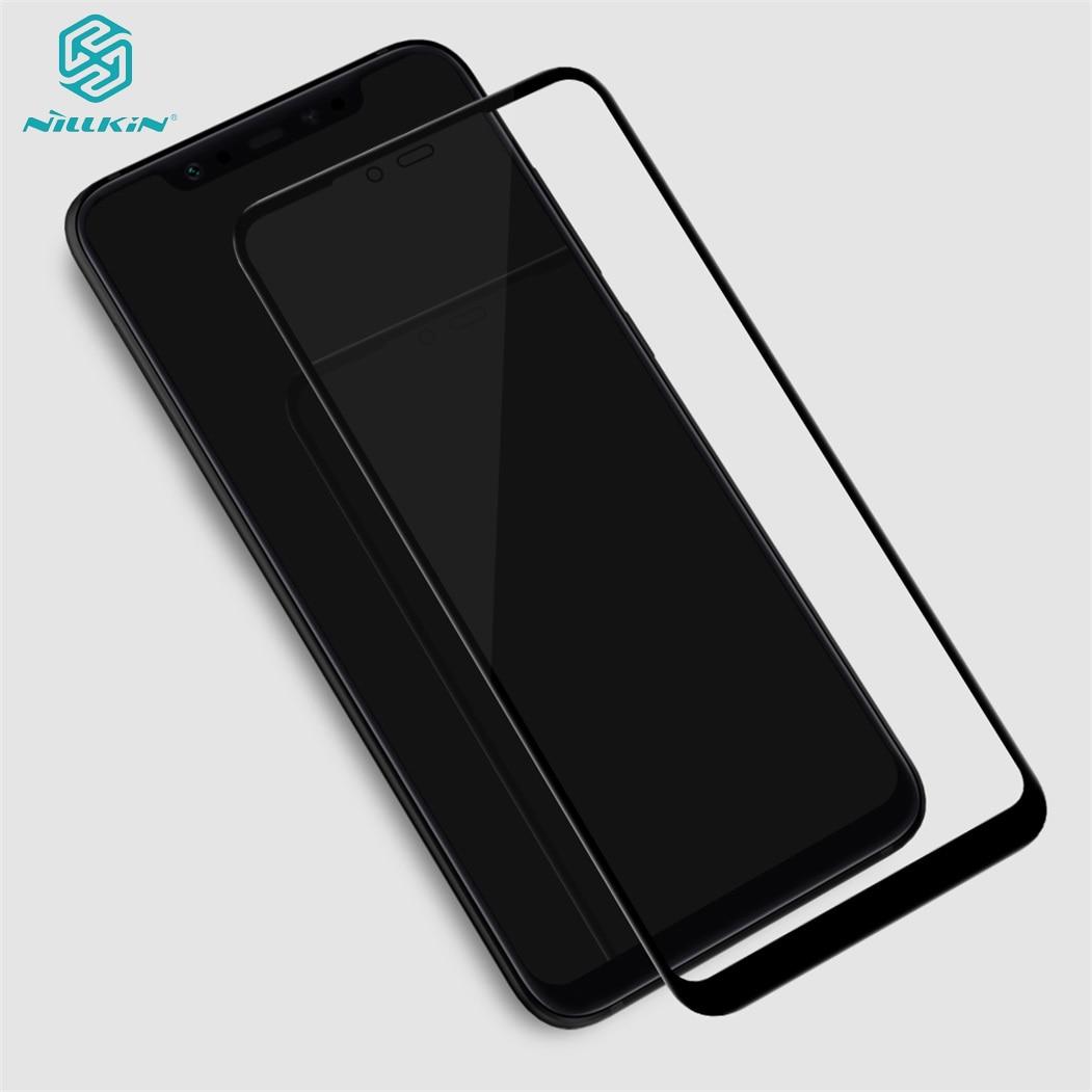 Para Xiaomi mi 8 vidrio templado mi 8 SE película protectora de pantalla cubierta completa nillkin 3D CP + Max 9H vidrio para Xiaomi mi 8 SE