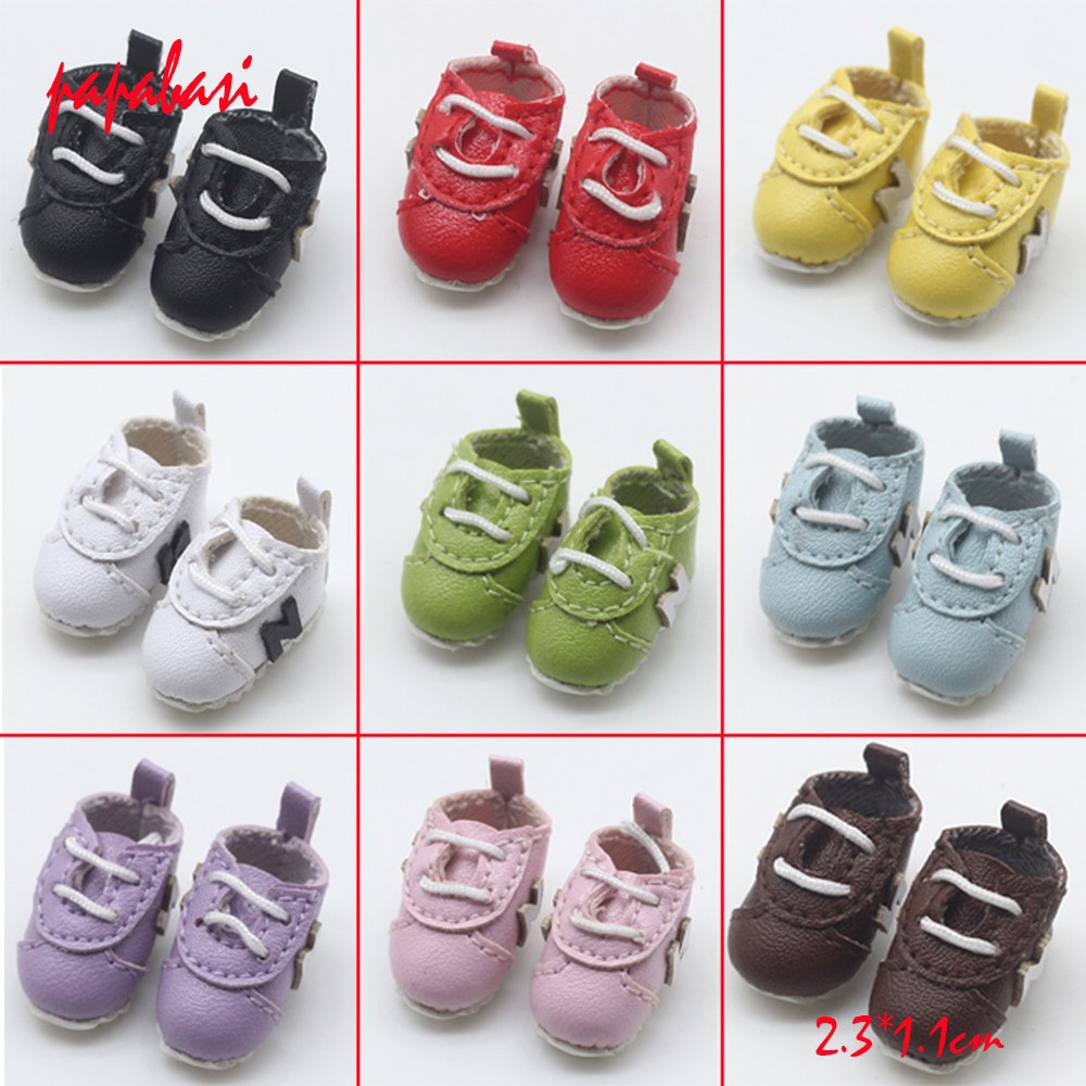 2,3*1,1 см куклы обувь для 1/6 blyth ,Azon, куклы OB, licca,1/8 bjd кукла мини обувь игрушки аксессуары