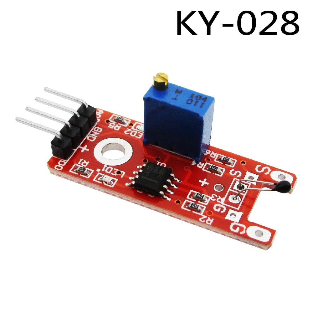 10PCS Ky-028 Digital Temperature Sensor Module AVR PIC DIY Wholesale