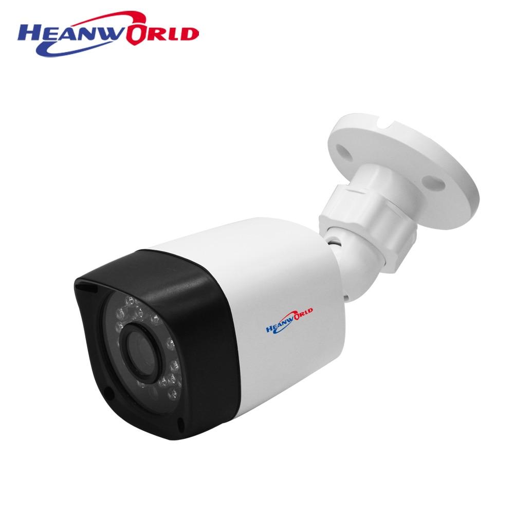 Cámara IP Heanworld de 2 mp, cámara ip full hd para exteriores, cámara de seguridad 1080 p, mini cámara de vigilancia tipo bala, cámara cctv de visión nocturna