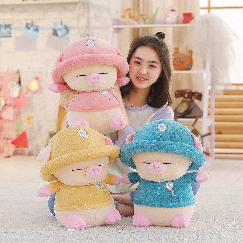 25-35 см милая и крутая свинка-Изгой, мягкая хлопковая плюшевая кукла, милые животные, мягкая игрушка, подарки на день рождения для детей