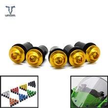 5 pièces carénage pare-vent vis boulon Kit pare-brise montage écrou boulon pour Honda CBR600RR CBR1000RR CBR250RR CBR 600 1000 250 RR