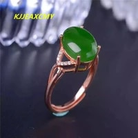 kjjeaxcmy natural and tian biyu gemstone rings 925 silver inlaid jewelry silver ornaments silver rings