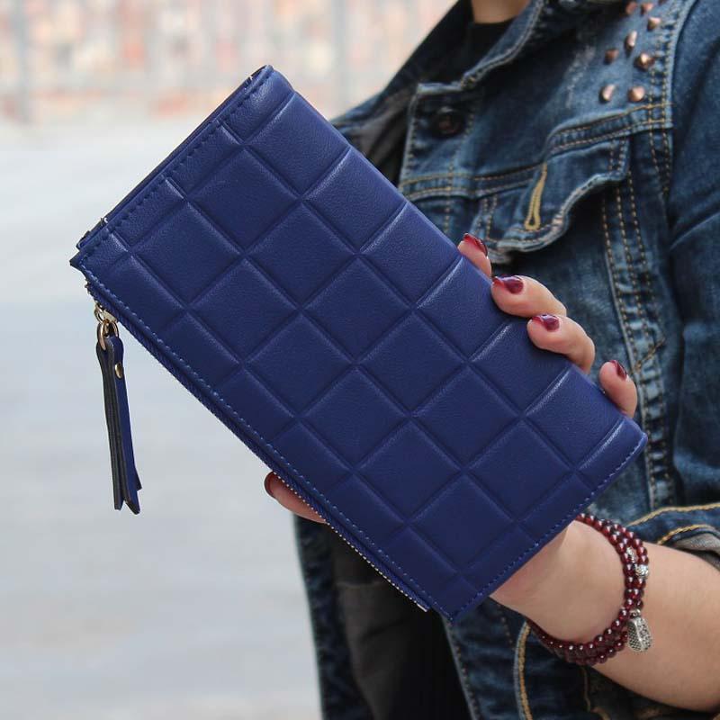 Neue Mode Stereoskopischen Platz Geldbörsen Geprägte Brieftasche Weibliche Kupplung Doppel-reißverschluss Geldbörsen Carteira Feminina Karte Brieftasche