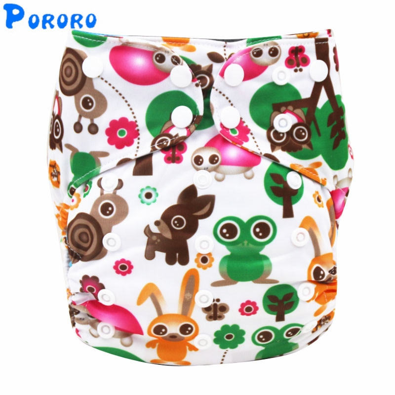 Baby Washable Cloth Diaper AIO Nappy Waterproof Reusable Pockets Cloth Diaper Christmas Printed Cloth Diapers With Insert Nappy baby cloth diaper sprayer system with copper inside attached in the toilet high speed water easy to wash soiled cloth diaper