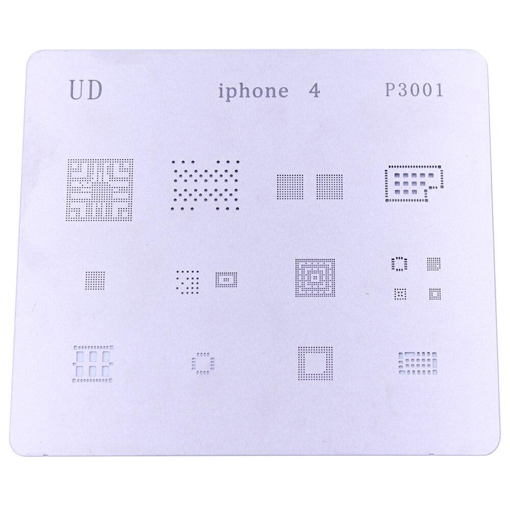 Nuevos kits de plantillas de reaballing de BGA, conjunto de plantillas de soldadura para iPhone 4 4S 5 5c, herramientas de reparación de chips IC
