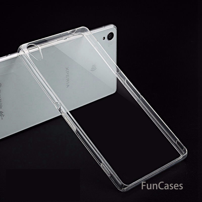Ultra-delgada TPU suave transparente caso para Sony Xperia XA Z1 Z2 Z3...