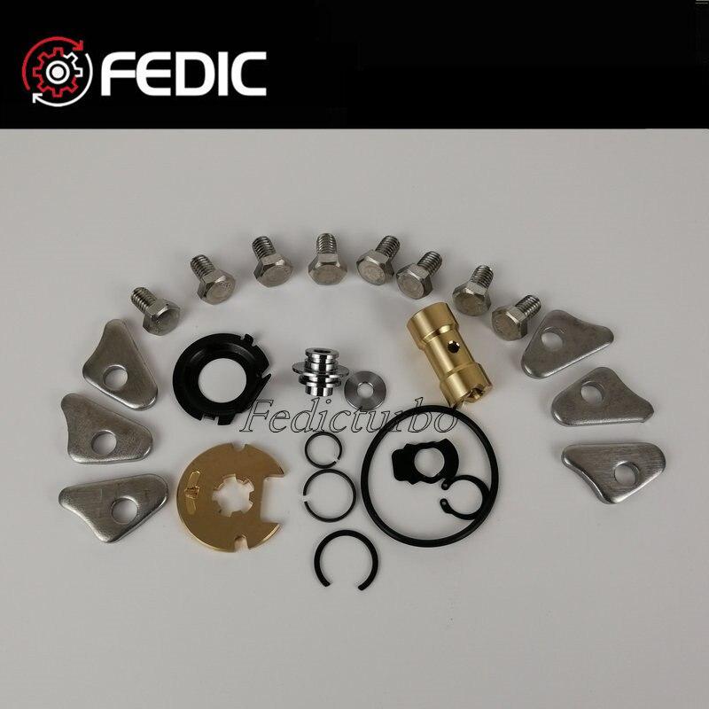 Kit turbocompresor reparación K03 53039880105 Turbo 53039700105 kits de remodelado para Audi asiento Skoda VW 2,0 ETI TFSI 147Kw BWA BPY 2006