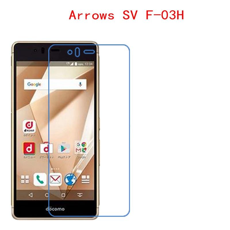 (2-Pack) Voor Fujitsu pijlen SV F-03H pijlen M03 Carbon Fiber 9 H Plexiglas Screen Protector