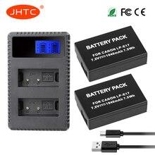 LP-E17 Batterie 1040 mAh/LP E17 Chargeur 8.4V Pour Canon M3 750D 760D t6i T6s 8000D beso X8i Batterie LPE17