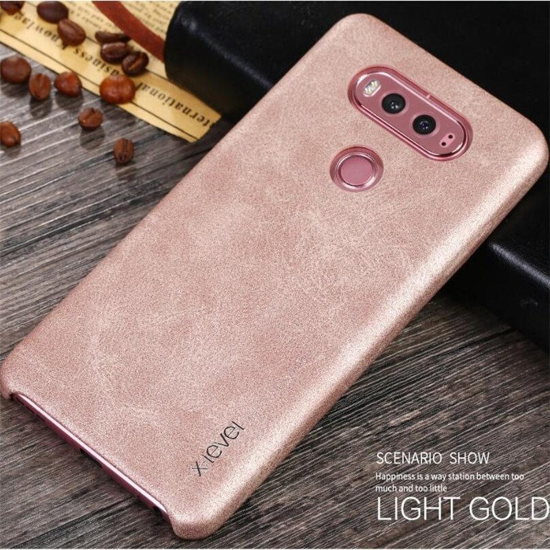 X-Level For LG V20 Case Retro Luxury PU Leather Back Cover Slim Fundas Soft Phone Cases For LG V20