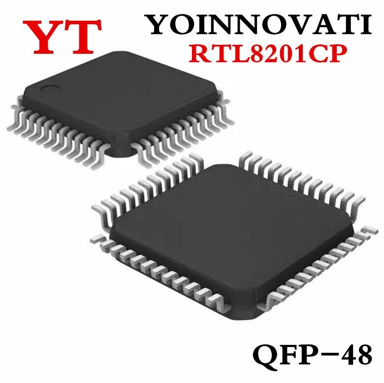 20 قطعة/الوحدة RTL8201CP RTL8201C RTL8201 8201CP QFP48