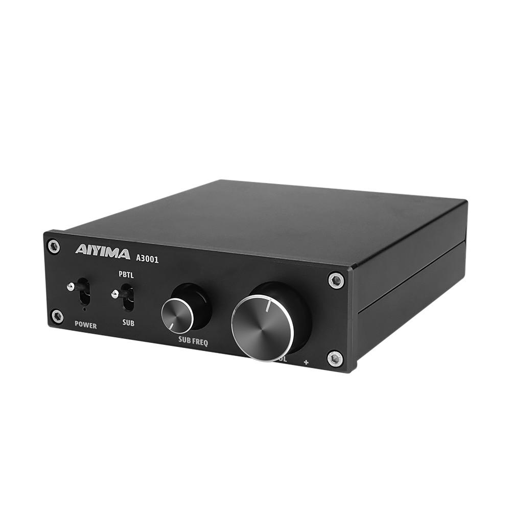 Amplificador AIYIMA TPA3255D2 300W HIFI Mono canal Audio potencia Subwoofer Clase D AMP NE5532 OP AMP para el hogar sonido de Audio