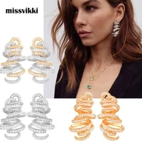 missvikki handmade exclusive design earrings boucle doreille femme earrings for women actor dancer party stageshow jewelry