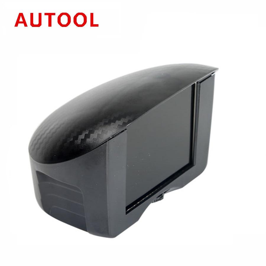 AUTOOL X50 PLUS coche OBD HUD Multi-función medidor Digital inteligente velocidad/agua/combustible/TEMP Pantalla de conducción automotriz