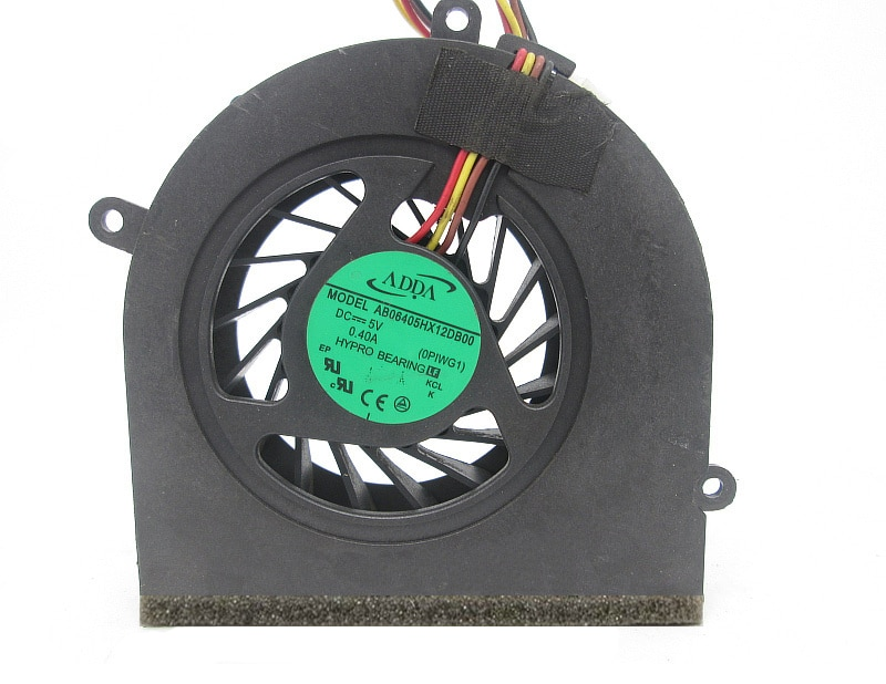 Nuevo ADDA AB06405HX12DB00 ventilador de refrigeración de CPU de 4 pines para Lenovo Idea pad G470 G470A G470AH G570 G475AX G475 G474GL