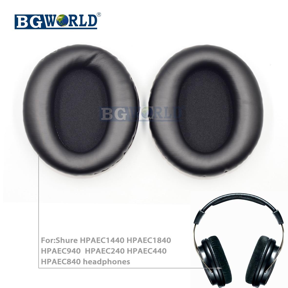 Almohadillas de repuesto almohadillas para los oídos almohadillas de almohada para Shure HPAEC1440 HPAEC1840 HPAEC940 HPAEC240 HPAEC440 HPAEC840 esponja de auriculares