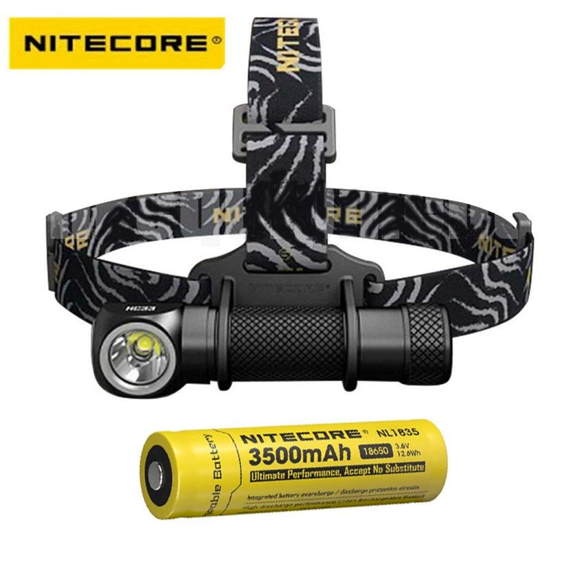 Налобный фонарь Nitecore HC33 CREE XHP35, светодиодный, 1800 люмен, с аккумулятором 18650