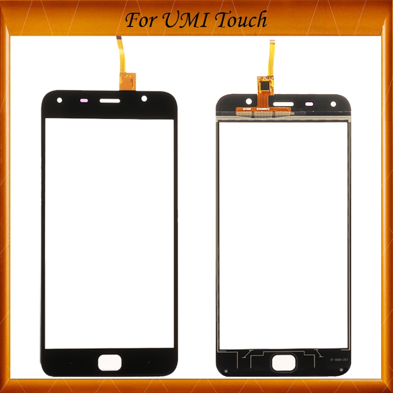 100% funciona bien para UMI Panel de pantalla táctil 100% nuevo Panel de vidrio pantalla táctil reemplazo de cristal para UMI Touch