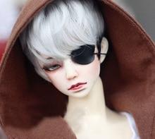 BJD Zwarte Eyepatch Eye Mask Voor 1/6 11in 1/4 17in en 1/3 24in 70CM Tall BJD pop SD17 SD MSD DK DZ AOD DD VOLK S pop